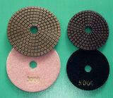 Griding, Finishing 및 Polishing를 하는 Stone Processing Line를 위한 닦는 Pad
