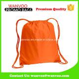 偶然の学校バスケットボールのための簡単な210d Plolyesterのバックパック袋