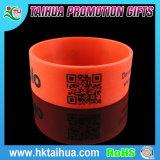 Qr Barcode Silikon-Armbänder