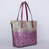 새로운 디자인 숙녀 조합 PU 핸드백 (P6332S)