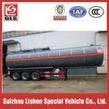 40000L 세 배 Axle Heating Device Asphalt Tank Semi Trailer