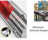 No. 1 calefator infravermelho de quartzo do calefator em China para o uso ao ar livre