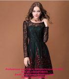 Tissu tricoté de lacet pour la robe et les vêtements de mariage