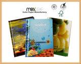 Fonte dos artigos de papelaria de China do caderno customizável do Hardcover A5