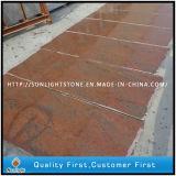 Слябы гранита Индии Multicolor красные для Countertops/надгробной плиты/плиток пола