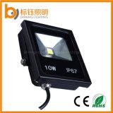 L'illuminazione esterna l'indicatore luminoso di inondazione impermeabile del lavoro LED di RGB della PANNOCCHIA di alluminio 10W della pressofusione