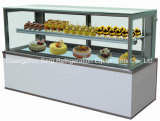 1.8 Medidor Marble Right Angle Cake Display Showcase com Ce