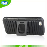 iPhone Se를 위한 반지 기갑 권총휴대 주머니 전화 상자