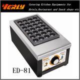 Fabricante elétrico ED-81 de Takoyaki do fabricante do alimento do petisco