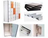 Nuevos armarios del libro de oficina del color de la viruta del diseño