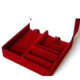 Caja determinada al por mayor del terciopelo de la buena calidad que se reúne la caja