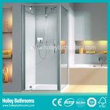 O compartimento novo do chuveiro do projeto pode ser aberto de dois lados (SE303N)