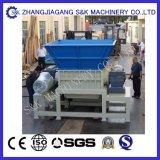 De plastic Machine van de Ontvezelmachine van het Recycling met Dubbele Schacht
