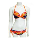 Verschiedener gedruckter Form-reizvoller Bikini-Frauen-Badeanzug