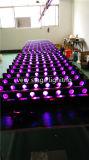 8 parti che spostano illuminazione capa del partito di evento del fascio LED della barra di RGBW