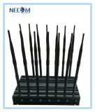Leistungsfähiger Signal-Hemmer-Blocker-Mobiltelefon-Hemmer Schreibtisch GPS-WiFi/4G, hören Hemmer des Kauf-(VHF, UHF-, G/M)/Blockers