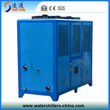 Refrigerador refrigerado, máquina de moldear industrial, refrigeración por aire 15HP