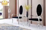 Cadeira inoxidável luxuosa da sala de estar do frame de aço de tampa de tela
