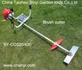 Jardín de 2015 el nuevo herramientas de jardín 52cc trabaja a máquina el cortador de cepillo del jardín con el cortador de nylon y