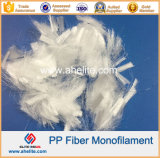 Mortar Cement Concrete를 위한 Microfiber Microfibre PP Monofilament Fiber