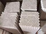 Mosaico de mármol blanco de Ariston para el cuarto de baño