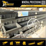 Stannum Erz-Aufbereitenschwerkraft-Trennung, die Tisch-Zinn-Bergwerksmaschine rüttelt
