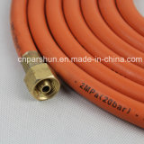 세륨 Certification En16436 Wp 300 Psi 6mm x 13mm Rubber Flexible Natural Gas Hose