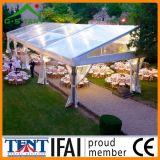 Famoso de alumínio das barracas do casamento do telhado transparente para o partido 10m