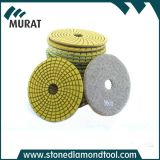 Granite와 Marble를 위한 수지 Velcro 4 Inch Wet Floor Polishing Pad