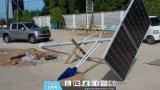 9m LED Solar Street Lamp