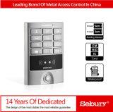 Controlador do acesso do teclado do metal/leitor impermeáveis, controle de acesso do leitor de Wiegand Input&out RFID