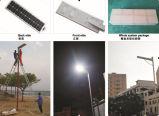 8W -40W Calle Solar Light System (nuevo diseño todo en una caja)