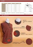 نساء [يك] صوف/كشمير مستديرة عنق [كديغن] طبقة/كنزة/لباس داخليّ/محبوكة/ملابس