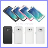 Samsung S7 S6 Edge Note를 위한 단단한 PC Transparent Mobile Phone Cover Cases Shockproof Waterproof Case 4 5