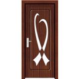 さまざまなデザイン(M-P6130)の経済的なPVCドア