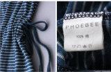 Phoebee 100%년 면 소녀는 여름을%s 복장을 입는다