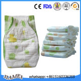 Fabricantes descartáveis dos tecidos da absorção super popular de Susu