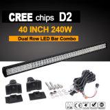 """40 """" barra ligera del CREE LED del camino (240W, IP68 impermeabilizan)"""