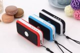 Nuovo Arriving 2 in 1 Wireless Bluetooth Speaker con Rechargeable Battery Function + LED Flash Light Small Body Ds-716