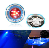 12X1w Underwater 색깔 Changing LED Pool와 SPA Light