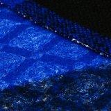 Tessuto di lana 100% del poliestere lucido per la mano protettiva
