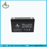batteria al piombo sigillata ricaricabile del AGM di 6V 10ah per indicatore luminoso