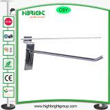 値段のホールダーのSlatwallのためのハングの表示ホック