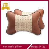 Precio barato almohadilla de seda del cuello del coche del hueso de la PU + del hielo
