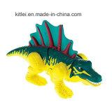 プラスチック恐竜はOEMの動物の工場によってカスタマイズされる図恐竜をもてあそぶ