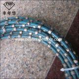 Il collegare del diamante ha veduto per il taglio della cava del marmo del granito che profila l'aggiustamento