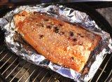 de Aluminiumfolie van het Huishouden van de Rang van het Voedsel 8011-o 0.008mm voor het Roosteren van Vissen