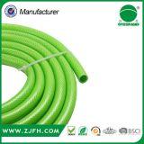 Grüner PVC verstärkter Faser-umsponnener Schlauch