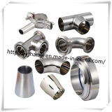 3A/DIN/SMS Edelstahl Sanitary Pipe Fittings