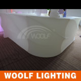 Diodo emissor de luz Bar Counter Furniture Table Hotel Table Dining Tables e Chairs